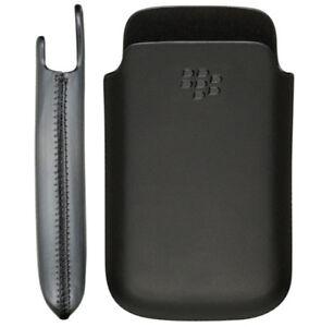 Blackberry-HDW-31228-002-Bold-9700-9780-Custodia-Tasca-Marsupio-Cover-Nera