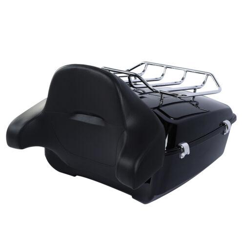 King Pack Trunk Luggage Rack Backrest For Harley Tour Pak Road Glide 2014-2020