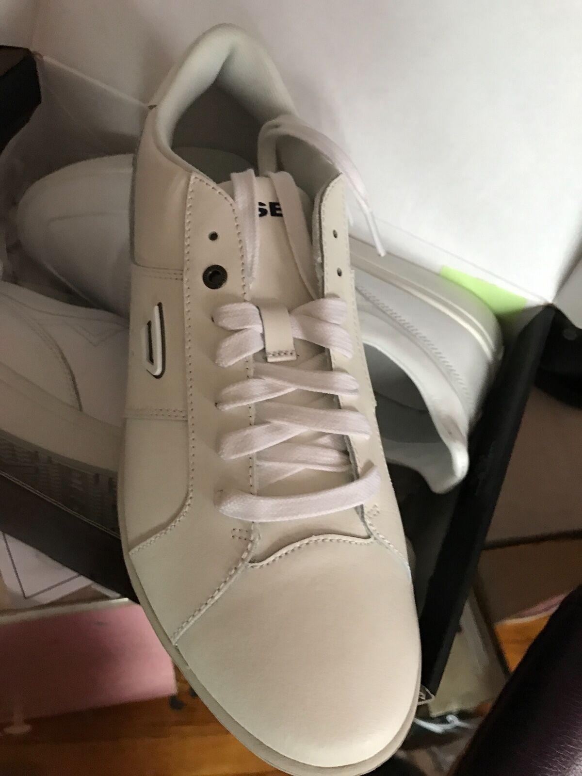Diesel Men's Gotcha White Lifestyle Sneakers size US12-
