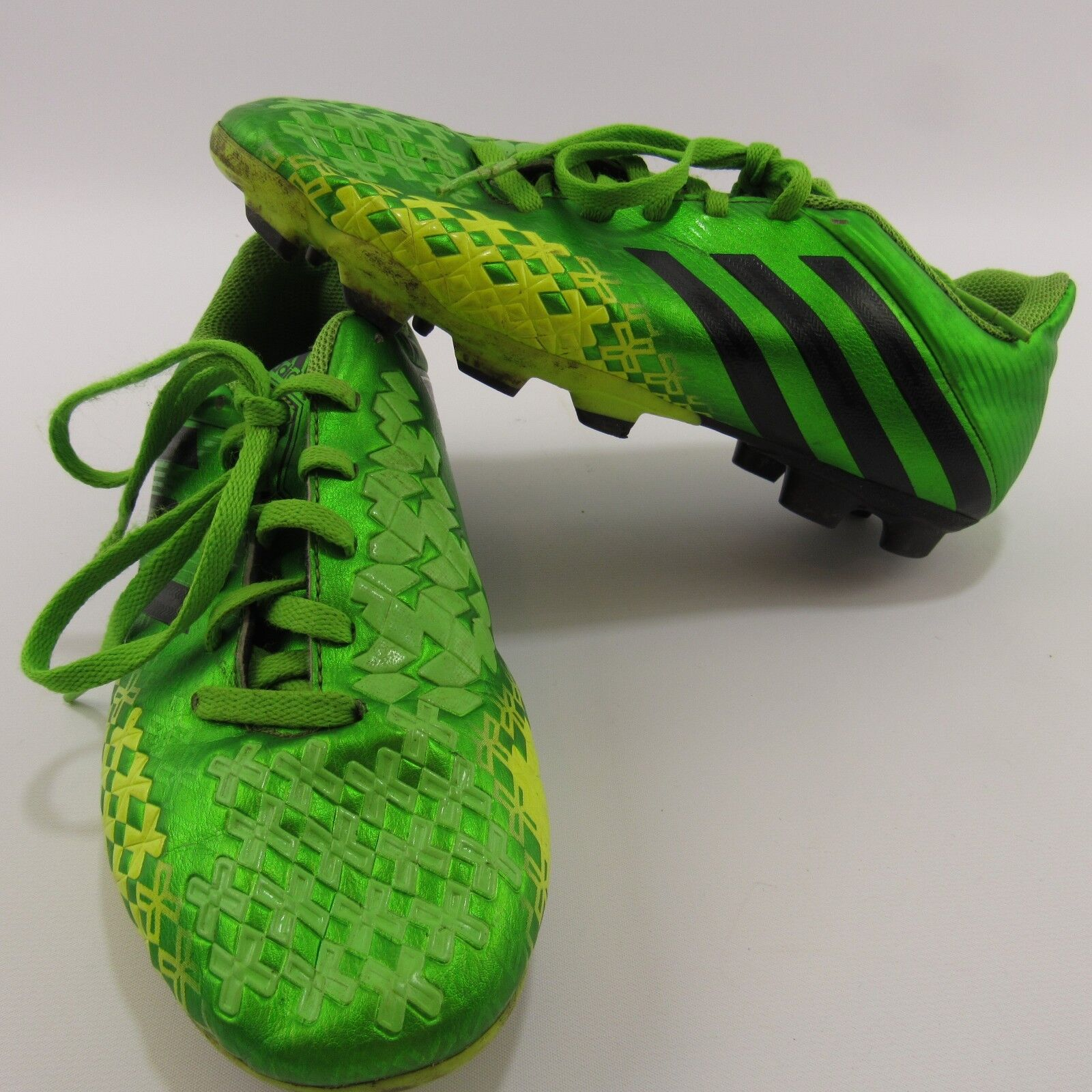 Adidas Predito Lz Trx FG Soccer Cleats Size 5 Athletic Outdoor Shoes Green