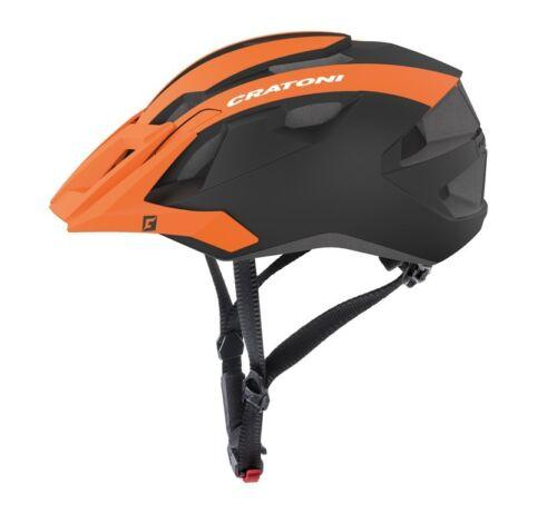 Cratoni Allride Casque //// orange//noir mat