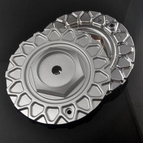 4x 168mm Matt Silver Wheel Center Cap for STR 606 RS Style #247L169 Aftermarket