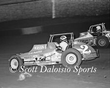 1979 Dean Thompson  Jimmy Oskie 8 x 10 Ascot CRA Sprint Car Photo