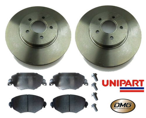 Front Brake Discs /& Pads Jaguar X-Type 2001-2009 All Models Unipart