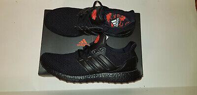 Adidas Ultraboost X Manchester United Fc Men S Size 12 5 D Black Eg8088 New Ebay