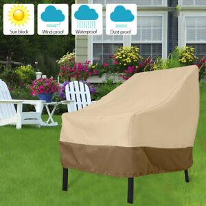 Qualité Étanche Extérieur Jardin Mobilier Chaise empilable chaises Cover