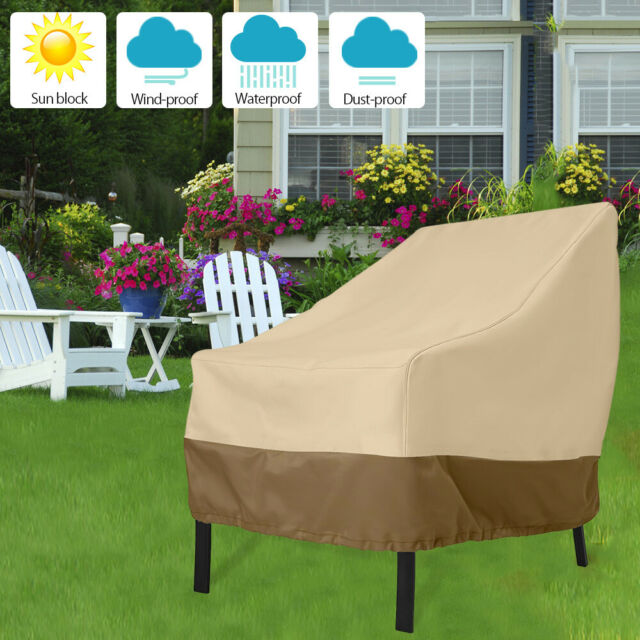 Awe Inspiring Heavy Duty Stacking Chair Covers Uv Waterproof Outdoor Garden Patio Furniture Short Links Chair Design For Home Short Linksinfo