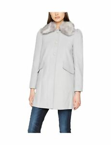 Coat Trim Fur Blue Dolly Collar Women's Selfridge Faux Miss x6RWHPnU