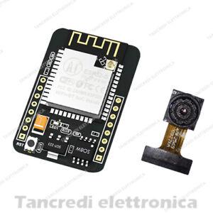 Esp32-cam-nodemcu-5v-WIFI-BLUETOOTH-sviluppo-Board-con-ov2640-MODULO-FOTOCAMERA