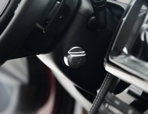Chrom Lenkrad Sperren Abdeckung Für Jaguar F Pace X761 XE Range Rover Velar 17+