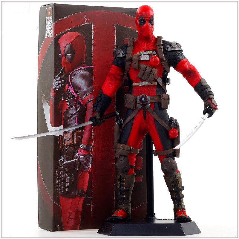 1 Marvel Legend Wave X-men Deadpool Wade Wilson Statue Action Figures Crazy Toys
