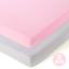 Fitted Playard Sheets 2 Pack Mini Crib Sheet Set,Pack n Play Mattress Cover,