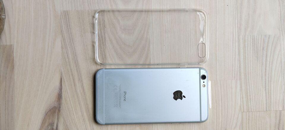 iPhone 6 Plus, 16 GB, grå