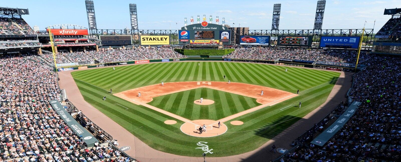 White Sox Tickets Chicago White Sox Tickets On StubHub - Us cellular field seating map