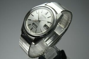 OH-Vintage-1966-JAPAN-SEIKO-SEIKOMATIC-WEEKDATER-6206-8130-26Jewels-Automatic