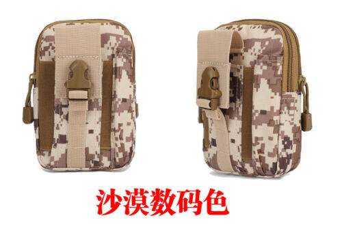 Tactical Military Mens Thigh Drop Leg Bag Fanny Pack Waist Belt Pouch Pocket