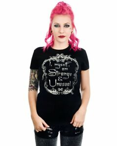 Too Fast BABYDOLL T-Shirt TATTOOED LADY  Rockabilly Punk Gothic Damen Shirt