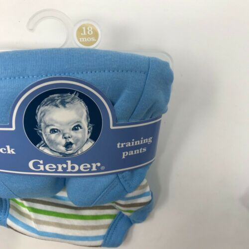 Gerber Baby 2 pack Boys Training Pants 18 mos 24-28 lbs 100/% Cotton New