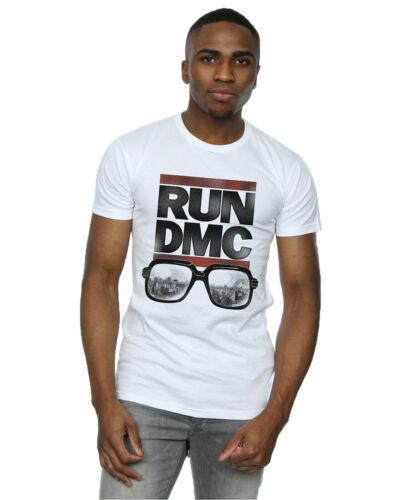 Run DMC Men/'s Logo Glasses T-Shirt