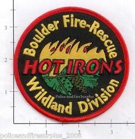 Colorado - Boulder Fire Rescue Wildland Division CO Fire Dept Patch