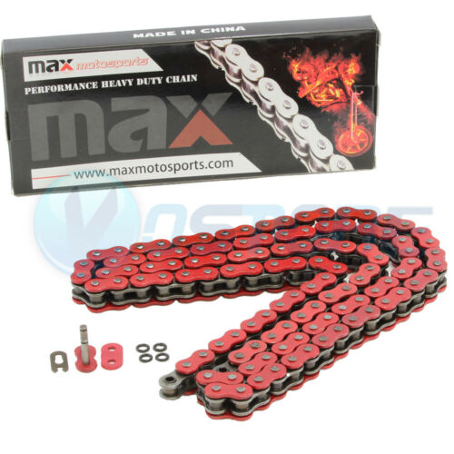 Red 520x110 O-Ring Drive Chain ATV Motorcycle MX 520 Pitch 110 Links