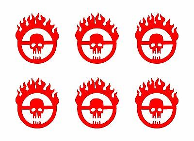 4 Inch MAD MAX FURY ROAD Vinyl Decal Sticker Die Cut 4 Banger JDM OBJECTS