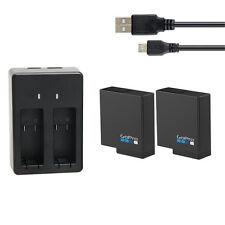 Original 1220mAh Li-ion Battery ?Dual charger for Gopro Hero 5 6 7 Action Camera