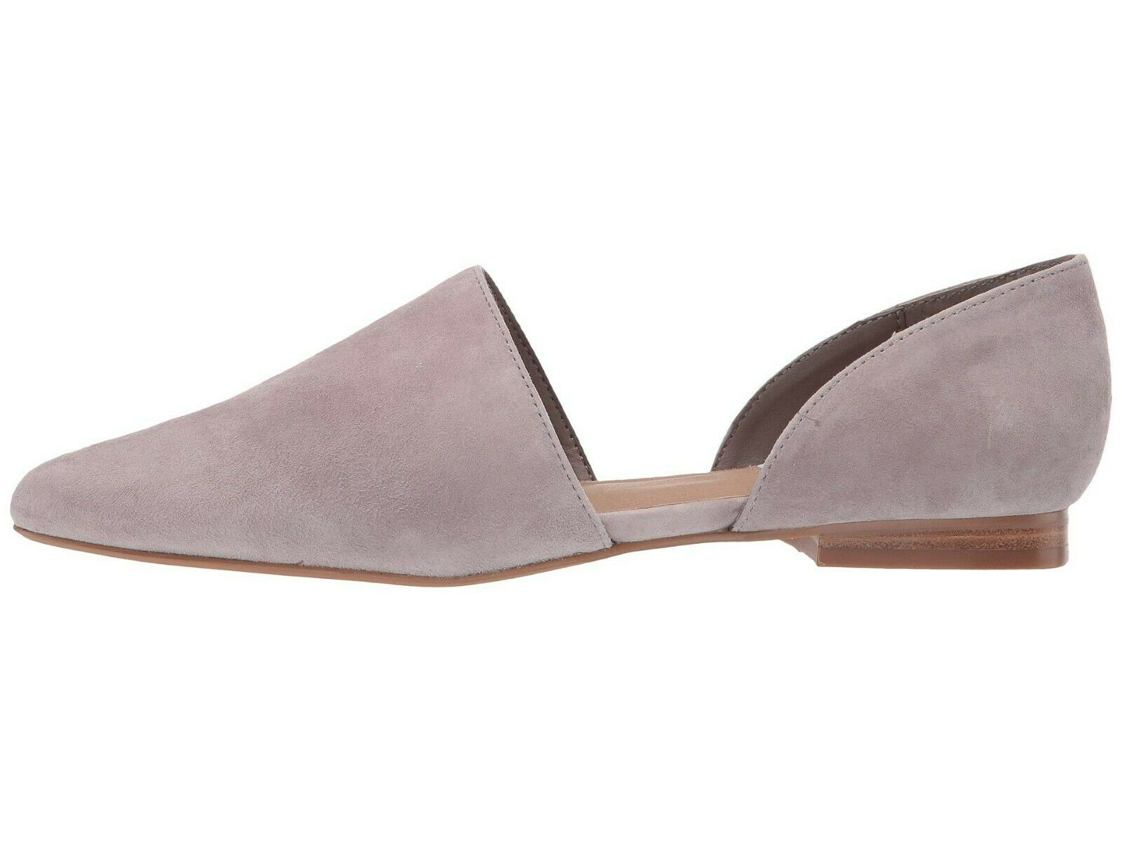 Steve Madden TALENT LIGHT grigio SUEDE Wouomo Slip On D'Orsay Loafers