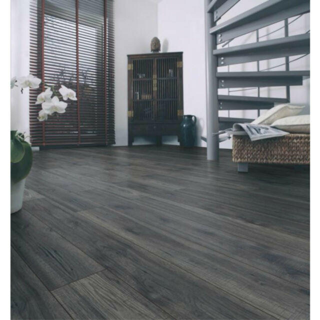 Ostend Berkeley Effect Antique Finish Laminate Flooring Pack New