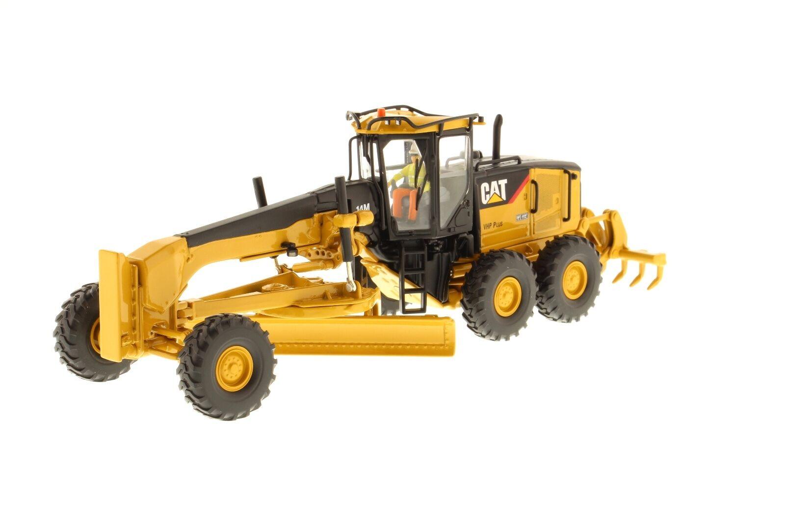 Caterpillar® 1 50 scale Cat 14M Motor Grader - Diecast Masters 85189