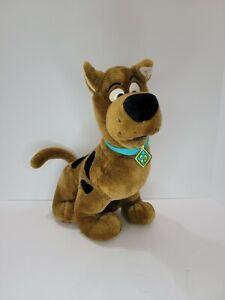 "Cartoon Network Talking Scooby Doo 14"" Vintage Plush Animal Toy Hanna Barbera"