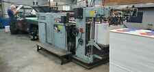 General Screen Press With Uv Dryer 20x28 Sheet Size