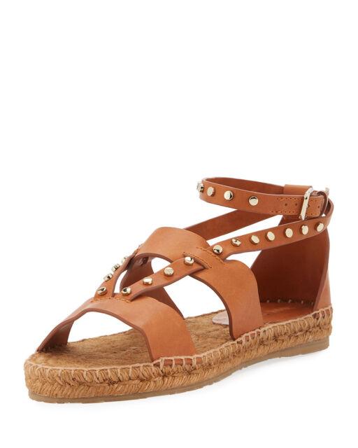 Jimmy Choo Denise Flat Studded Sandals