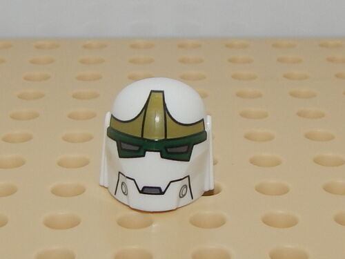 Lego Minifigure Head Piece Star Wars Bounty Hunter 75018 Helmet #3