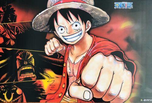 Japanese Anime ONE PIECE Poster #B4 Luffy Zoro Nami Usopp Sanji Chopper