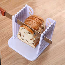 Kitchen Tool Bread Slice Toast Slicer Guide Cutter Slicing Cutting Sheet NEW