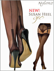 8767bef36 Gio Fully Fashioned Stockings - SUSAN Heel - PERFECTS   All Colours ...