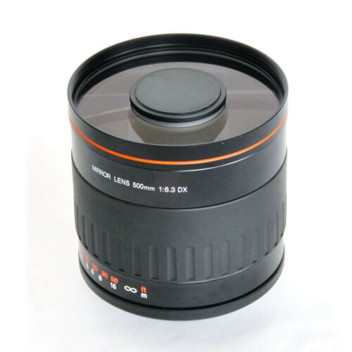 500mm f//6.3 Telephoto Mirror Lens for Sony A6000 A77II A7III A7R NEX-5N NEX-6 7