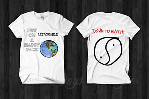 2e60fbd6f43d Travis Scott Astroworld Merch 2019 Anti Tour T Shirt Down To Earth ...