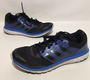 cheaper 9a85a 0be42 Image is loading Adidas-Duramo-7-Mens-Running-Shoe-Black-blue-