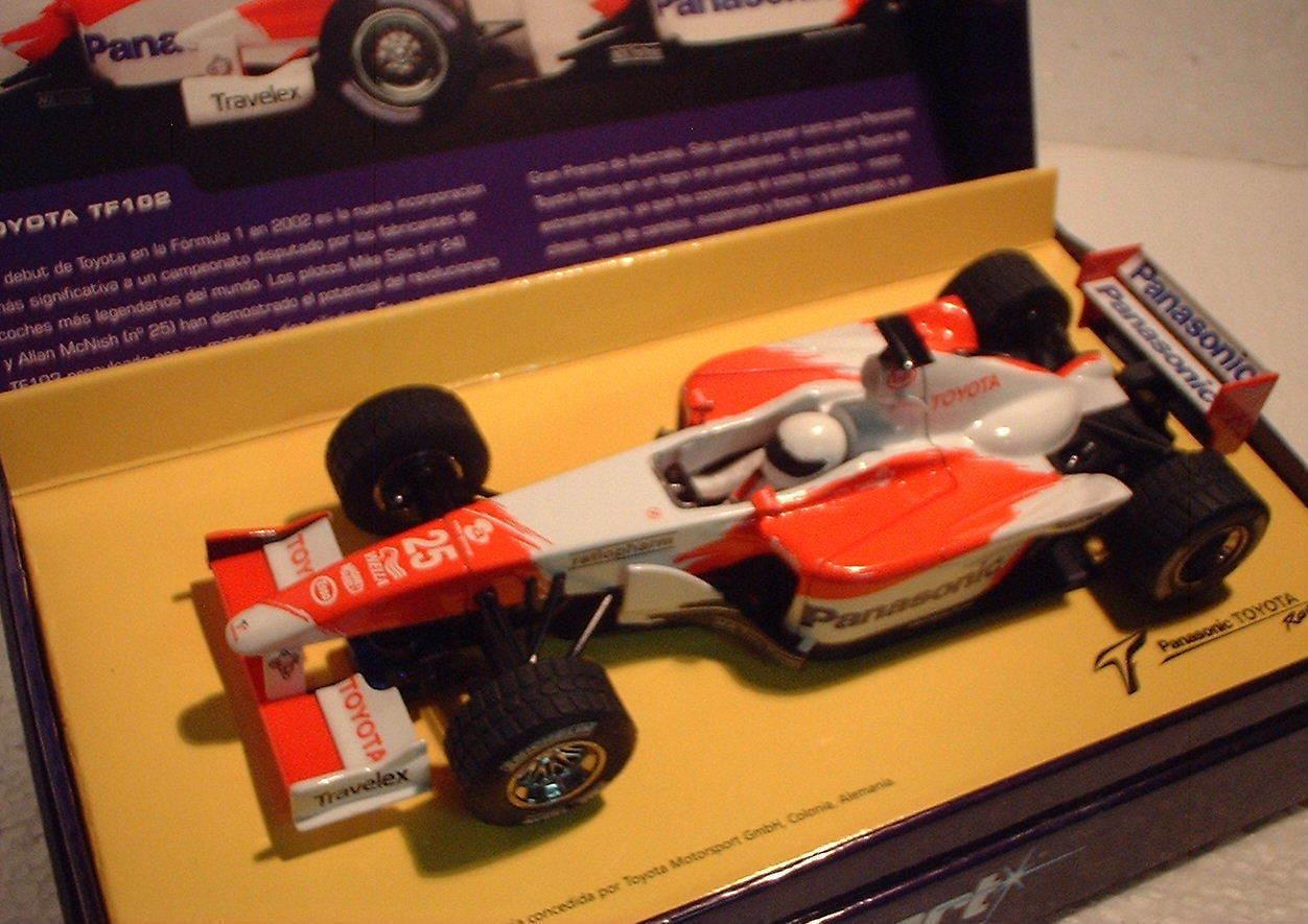 Qq H2456A SUPERSLOT SPORT TOYOTA TF102 F1 2002 No 25 PANASONIC - Scalextric RU