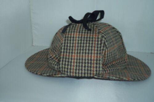 Hawkins brown tweed cerf harceleurs Sherlocke holmes hat fast post 1st classe