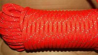 8mm (5/16) X 58' Kernmantle Accessory Cord, Pack Rope --