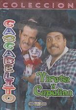 DVD -  Cascabelito NEW Viruta Y Capulina Coleccion FAST SHIPPING !