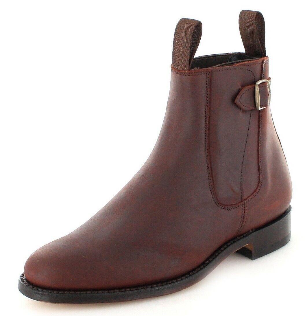 El estribo botas 1690 marrón chelsea bota