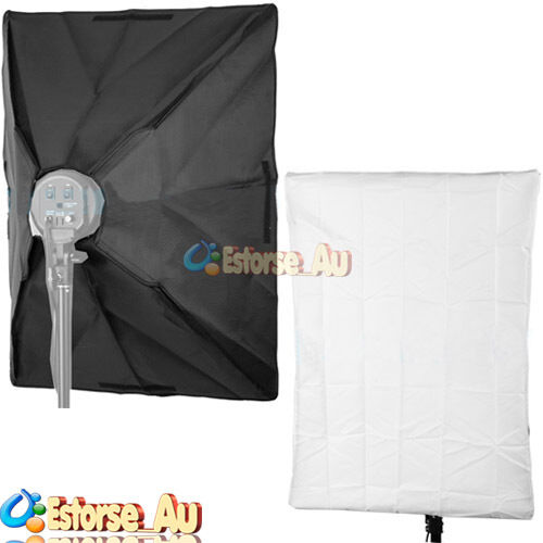 50 x 70cm Studio Lighting Photo Softbox For 4 Socket E27 Lamp Bulb Head