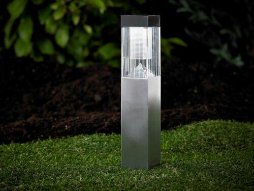 DEL lampe solaire lampe solaire lumière solaire jardin éclairage en acier inoxydable pilier so27
