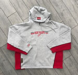 premium selection 26324 7aa07 Details about Mens Detroit Red Wings Hoodie Sweater