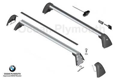 Pair of BMW 2 Series F22 Coupe Roof Bars Beta-103 130cm 14-16