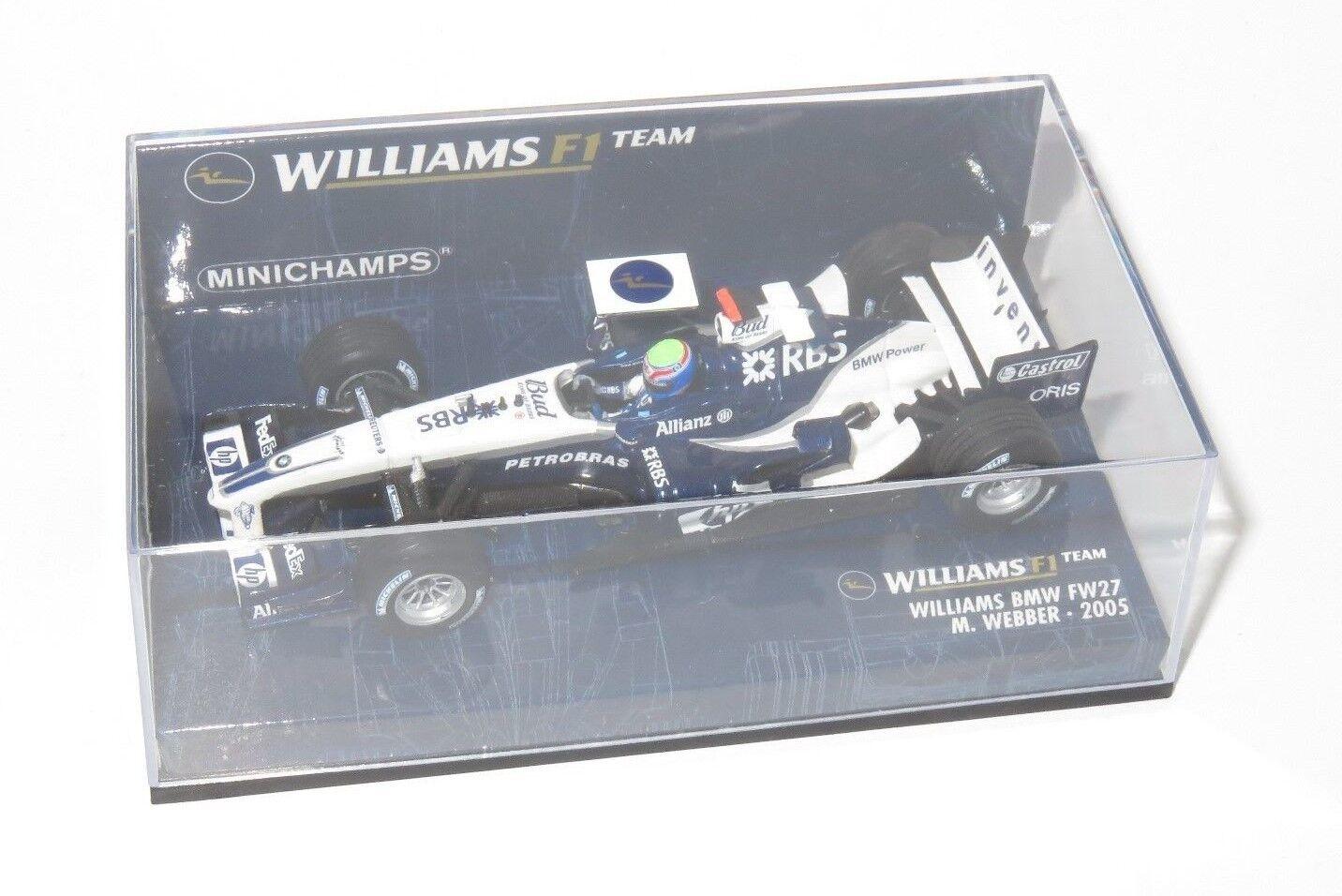 1 43 Williams BMW FW27  Mark Webber  2005 Season